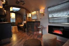 """fireplace"" in the airstream"