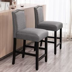 Ophelia & Co. Sinead Dining Table & Reviews | Wayfair Table And Chairs, Side Chairs, Dining Chairs, Grey Bar Stools, Counter Stools, Pedestal Dining Table, Dining Nook, Short Stools, Upholstered Bench