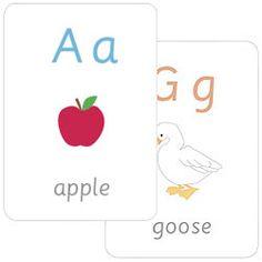 Free Printable Alphabet Flash Cards | Mr Printables