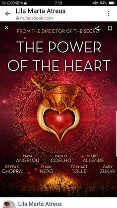 It's time to discover the Power of the Heart. Paulo Coelho, Maya Angelou, Deepak Chopra and Eckhart Tolle take you into a powerful story. Maya Angelou, Film Le Secret, The Secret, Eckhart Tolle, Michael Beckwith, Gary Zukav, Deepak Chopra, Beyond Words, Holistic Approach