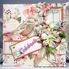 Celebrate to your hearts content! FabScraps C105 Memory Lane collection.