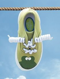 Leap Frogs Tennis Shoes for toddlers by Monkey Toes - $39