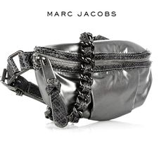 Very cute Marc Jacobs fanny pack. Would totally wear it Pretty Outfits, Pretty Clothes, Waist Pouch, Cheap Necklaces, Trendy Collection, Cute Necklace, Fashion Handbags, Purse Wallet, Fanny Pack