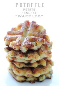 """Potaffle {Potato Pancakes """"Waffled""""}"""