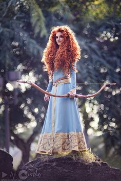 Merida from Brave (Cosplayer: Callesto -- http://callesto.deviantart.com/ | Photographer : Vincent E. Milum Jr. -- http://darkainmx.devianta...