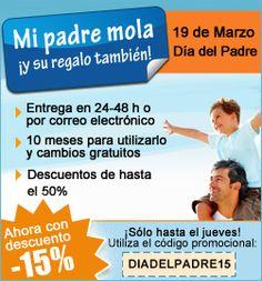 -15% de #descuento en todas las compras @zonaregalo con código:DIADELPADRE15 hasta 15/03 http://www.expotienda.com/index.asp?categoria=13&producto=261