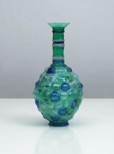 Shari Mendelson, Blue & Green Vessel, USA, 2011 - Todd Merrill