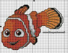 Nemo cross stitch 3-3