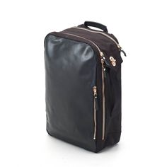 Prefer the looks of a bag, but the function of a backpack  This clean  looking item carries your laptop and documents, plus a significant amount of  ... a1dea28d73