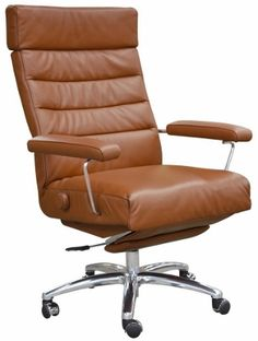 Lafer Executive Recliner Adele Is An Ergonomic Task Chair And Office All In One Features Independent Backrest