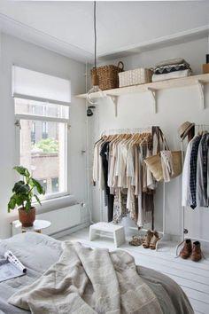 open bedroom closets