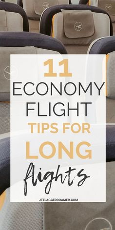 The Flight Tips You Absolutely Need To Survive Long Flights In Economy - Headed on a jet plane in economy? Use these long flight tips for your next flight in eco - Packing Tips For Travel, Travel Advice, Travel Essentials, Travel Guide, Europe Packing, Travelling Tips, Travel Info, Travel Hacks, Travel Ideas