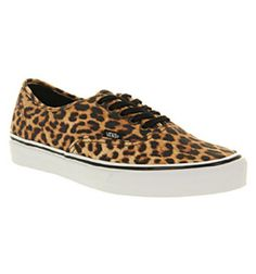 b77bc1e42d Vans - Multicolor Authentic Leopard Black Brown Exclusive for Men - Lyst