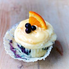 Wild Blueberry Orange Blossom Cupcakes Nutriton is so important. Read more at nutrition101.kyani.net