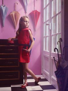 e-look: Haute Design by Sarah Klassen In Vogue Enfants. Vogue Kids, Fashion Shoot, Kids Fashion, Little Fashionista, Modern Kids, Lany, Children Photography, Well Dressed, Cute Kids