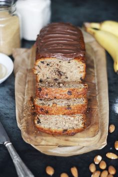 Healthy Desserts, Banana Bread, Sugar, Food, Diy, Health Desserts, Bricolage, Essen, Do It Yourself