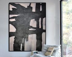 Extra Large Contemporary Painting Abstract by CelineZiangArt