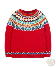 little bird by Jools fairisle jumper