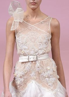 Alexis Mabille S/S 2013 Couture Runway Details