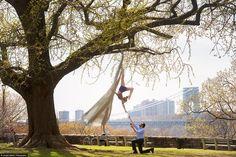 I WOULD DIE OF HAPPINESS...  See this image of Leo Biselman & Sarah Sadie Newett 1 from @Jordan Matter's Circus Among Us   Circus Among Us - Jordan Matter Photography