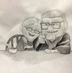 carl and ellie from the movie up :)