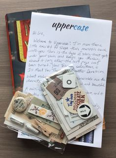 Uppercase YA Book Subscription Box Review - February 2015