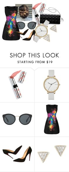 """""""dream big #2"""" by soph156 ❤ liked on Polyvore featuring Ciaté, Skagen, Prada, Christian Louboutin and Adina Reyter"""