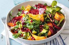 Feldsalat mit Granatapfel - Schrot und Korn - Das Kundenmagazin für den Naturkosthandel