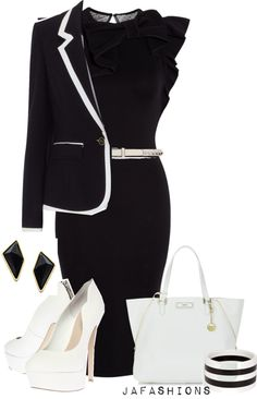 """""""The Job Interview #3"""" by jafashions on Polyvore"""