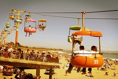 There is no summer without Santa Cruz :) My sons & I use to go weekends, great memories.