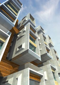 Condominium Housing Building - Edificio de Vivienda Condominio — My Architectural Mind - Architecture and Design