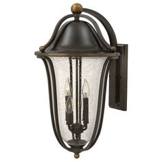 Bolla Olde Bronze Four-Light Outdoor Wall Sconce