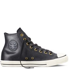 Converse - Chuck Taylor All Star Vintage Leather -Black - High Top