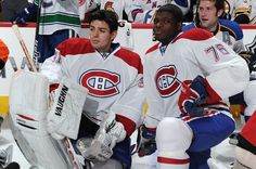 Carey Price, PK Subban - my two faves! Montreal Canadiens, New York Islanders, National Hockey League, Best Friend Pictures, Hockey Players, Lacrosse, Nhl, Sports, Frozen Water