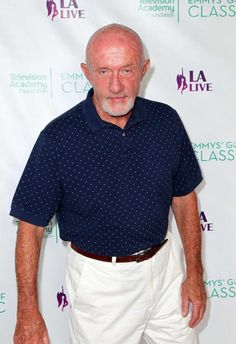 "Jonathan Banks had a great role, the one of ""Mike"", in Breaking Bad. Breaking Bad Actors, Breaking Bad Cast, Aaron Paul, Bryan Cranston, Home Tv, Crystal Meth, Better Call Saul, Jonathan Banks, Walter White"