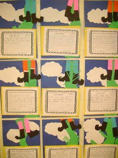 Jack and the Beanstalk writing activities and craft: Would you climb the Beanstalk?