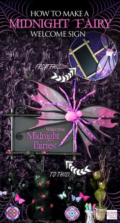Soiree Event Design | Midnight Fairy Halloween Party for Kids | http://soiree-eventdesign.com