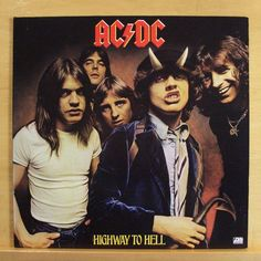AC / DC - Highway to Hell - Vinyl LP Touch too much Girls got Rhythm Get it hot