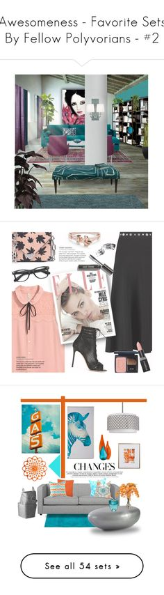 """""""Awesomeness - Favorite Sets By Fellow Polyvorians - #2"""" by colormegirly ❤ liked on Polyvore featuring interior, interiors, interior design, home, home decor, interior decorating, Sarreid, Laura Ashley, Moe's and Souda"""