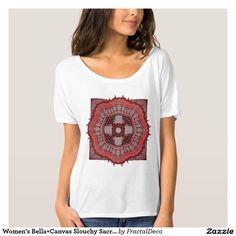 Women's Bella+Canvas Slouchy Sacred Geometry T-Shirt
