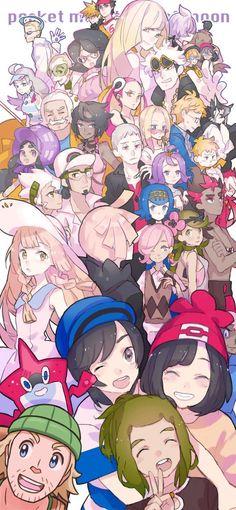 Elio, Selene, Lilie, Hau, Gladion, Ilima, Mallow, Lana, Kiawe, Professor Kukui, Professor Burnett, Sophocles, Acerola, Nanu, Molayne, Mina, Olivia, Hala, Hapu, Guzma, Plumeria, Lusamine, Wicke, Faba, Kahili, Colress, Dexio, Sina, Hiker, Looker Lusamine Pokemon, Pokemon Waifu, Pokemon Funny, Pokemon Fan Art, Pokemon Games, Satoshi Tajiri, Nintendo, Pokemon Universe, Mudkip
