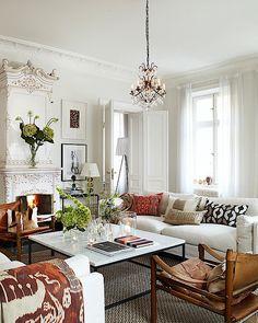 Classic Scandinavian Apartment Elegant Interior Design from Homelen