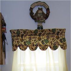 Sew a Curtain Valance with Scallop Edges