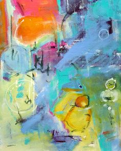 ABSTRACT+PAINTING+Union+ORIGINAL+Contemporary+by+MElizabethChapman,+$100.00