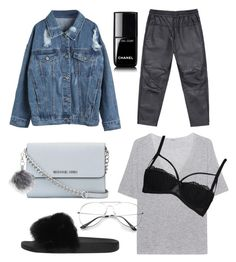 """""""Untitled #71"""" by boturovic-kristina on Polyvore featuring WithChic, MICHAEL Michael Kors, iHeart, Boohoo, Givenchy, Topshop and Chanel"""