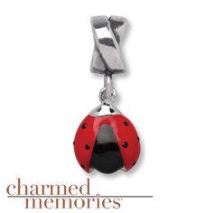 Kay - Charmed Memories® Ladybug Dangle Charm Sterling Silver ***so cute***
