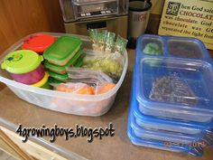 What to do with a picky eater and school lunches, we are going to give this a try.  Maybe I'll pack my lunch like this too!