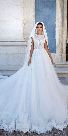Milla Nova 2018 Wedding Dresses Collection ❤ See more: http://www.weddingforward.com/milla-nova-2018-wedding-dresses/ #weddingforward #bride #bridal #wedding