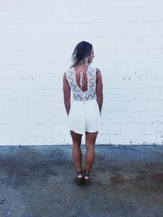 Touch of Class Romper - Anchored Hope Boutique  - 1