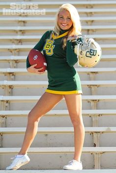 Cheer / Cheerleader / Cheerleading Portrait / Photo / Picture Idea - Stands